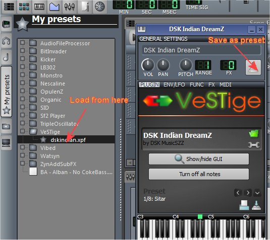 How to add VST to a